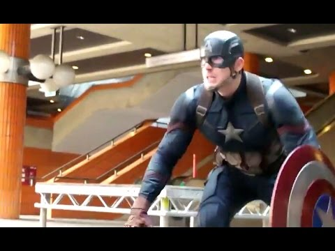 CAPTAIN AMERICA: CIVIL WAR Featurette - Black Panther Chase (2016) Marvel Movie HD