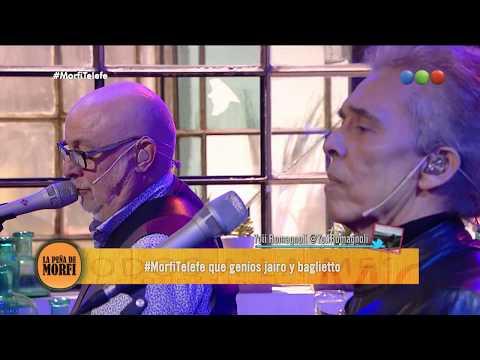 Jairo y Baglietto juntos - La Peña de Morfi