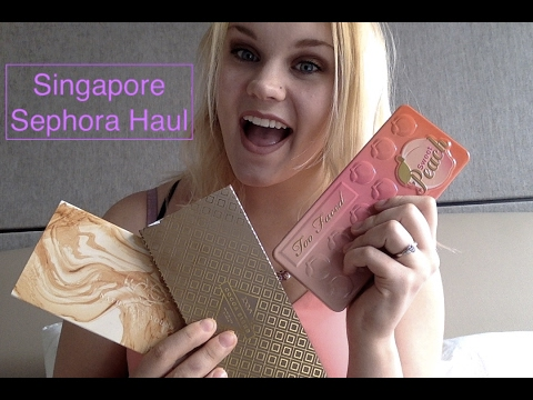 Singapore Sephora Haul