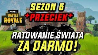 RATOWANIE ŚWIATA ZA DARMO?! - MOTYW SEZONU 5 - (Fortnite battle royale)