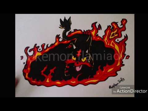 Dessin De Pokemon Flamiaou Youtube