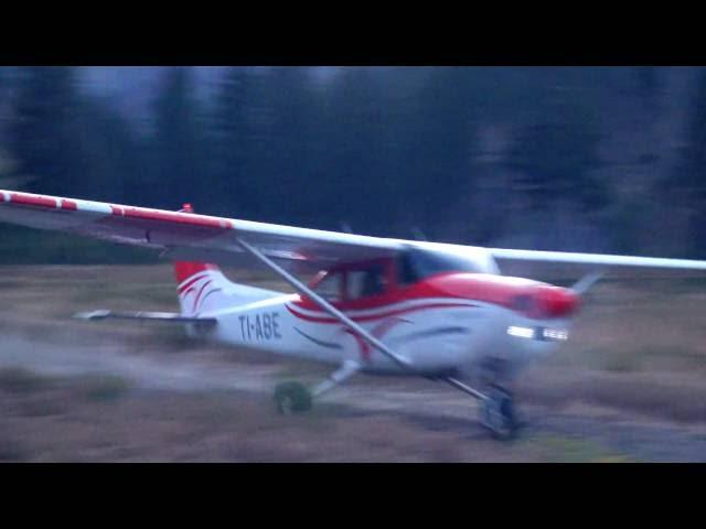 Cabin Creek Idaho, Cessna 182