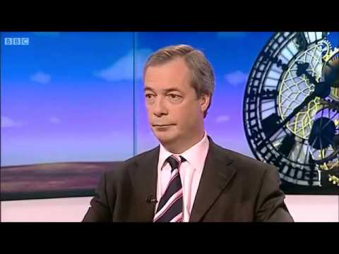 UKIP Nigel Farage, BBC Daily Politics -  January 2014