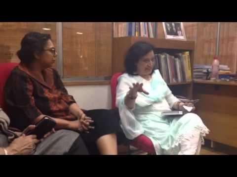 Fahmida Riaz at Apne Aap - tum bilkul hum jaise nikle