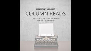 Column Read | October 14, 2021
