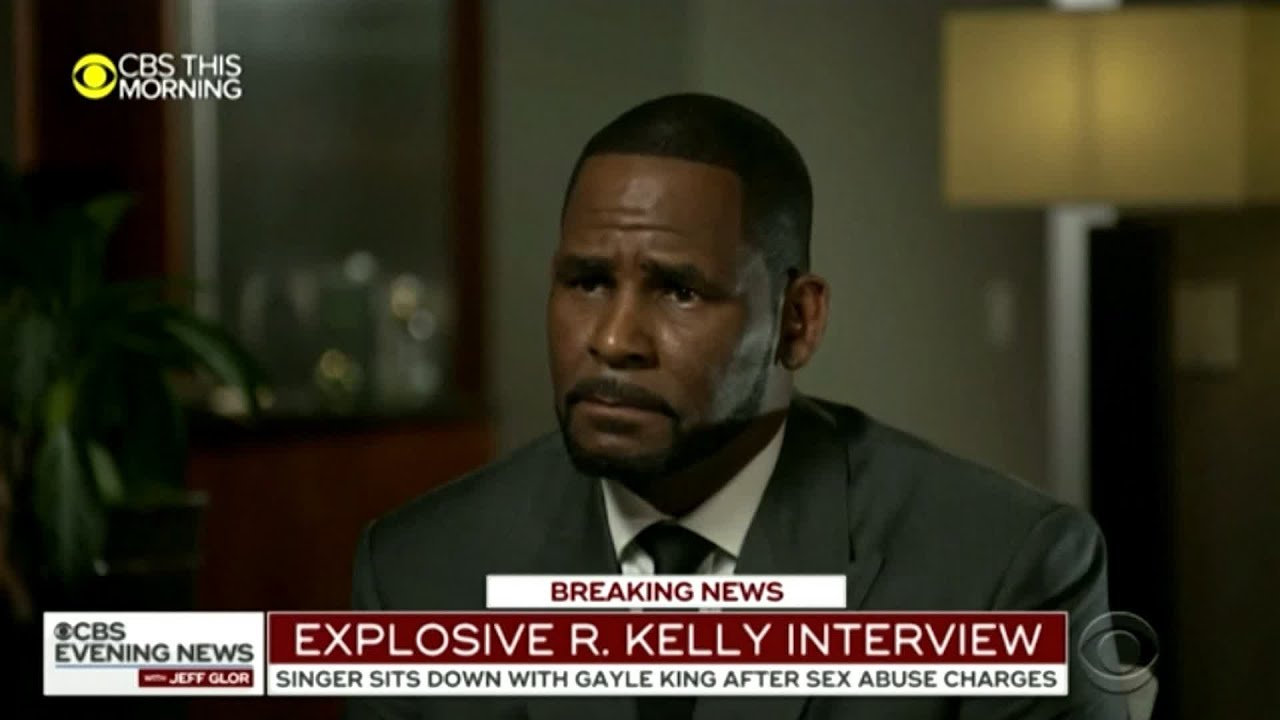 R. Kelly tells CBS 'I didn't do this stuff'