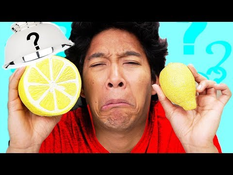 Squishy VS. Real Food *SOUR WARNING*!!