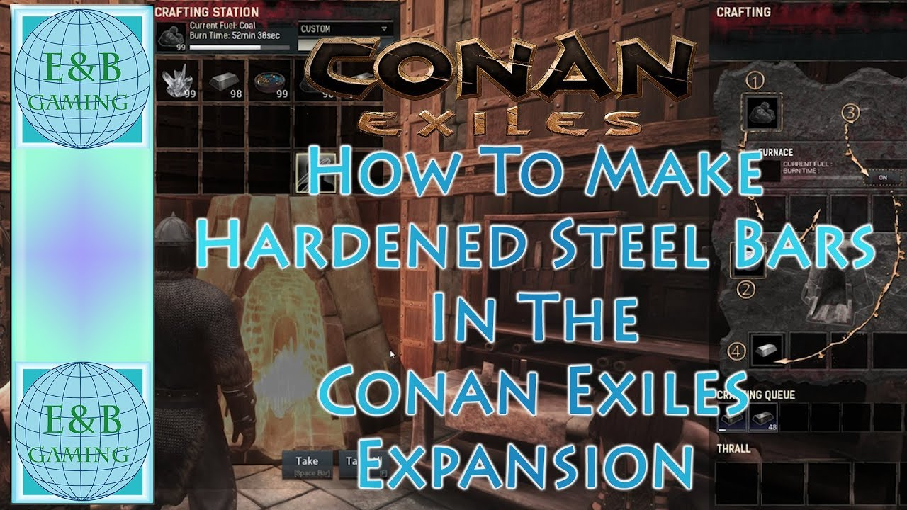 Conan exiles hardened steel how to make it a secret sword conan exiles hardened steel how to make it a secret sword recipe forumfinder Images