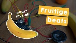 Fruitige Beats programmeren met je Microbit 🍊