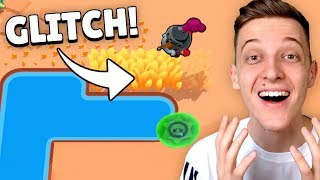 FLIEGEN MIT BRAWLERN GLITCH! *OMG* 😂 | Brawl Stars deutsch