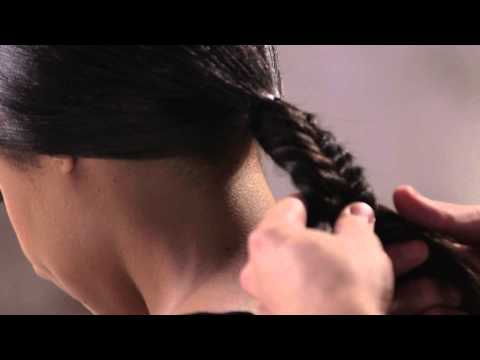 Undone Fishtail Braid Hair Tutorial by TRESemmé Style Studio Travel Video
