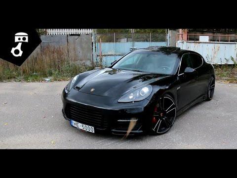 Porsche Panamera 4S 4.8 Тест-драйв; ZhmuraTV