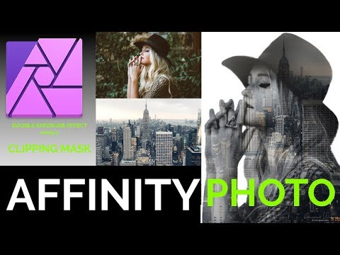 Affinity Photo Clipping Mask Tutorial thumbnail