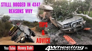 4x4 Still Bogged, reasons why