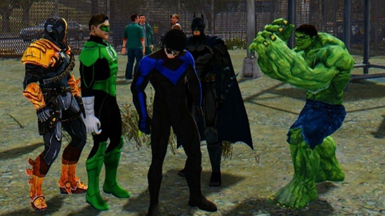 Marvel vs DC - The Incredible Hulk vs Green Lantern ... | 1280 x 720 jpeg 138kB