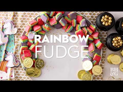 Rainbow Fudge | Eat This Now | Better Homes & Gardens