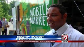 Mobile farmer's market hits the road