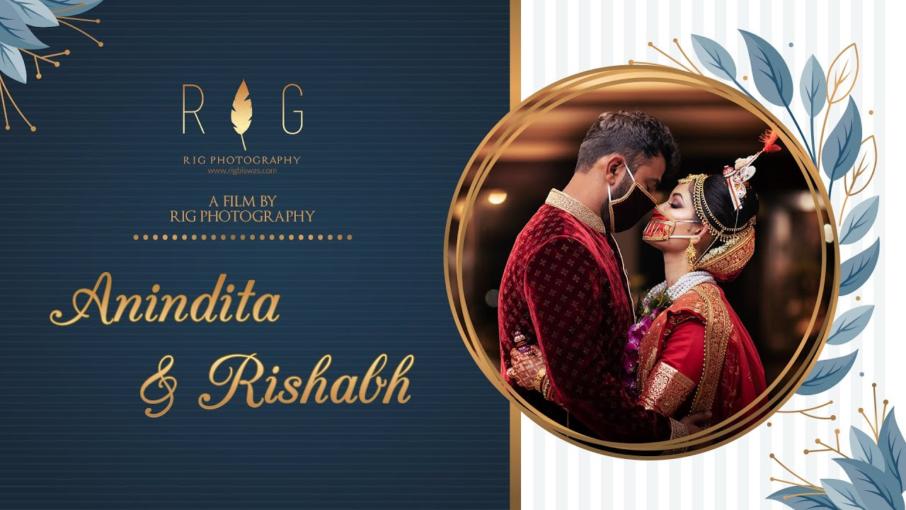 LOCKDOWN WEDDING | INTIMATE WEDDING OF ANINDITA & RISHABH | RIG PHOTOGRAPHY 2020