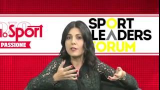 Sport Leaders Forum: intervista per il Corriere dello Sport