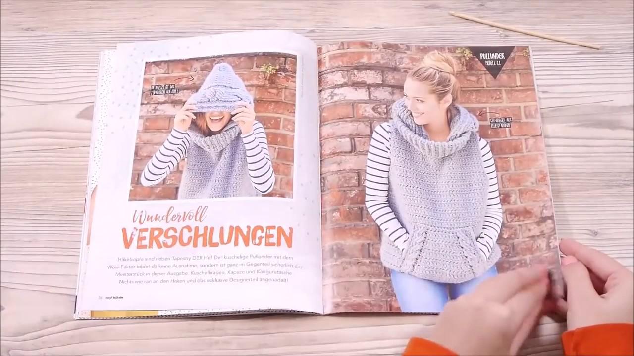 Easy Häkeln Nr. 1/2017 - Einmal durch die Zeitschrift geblättert ...