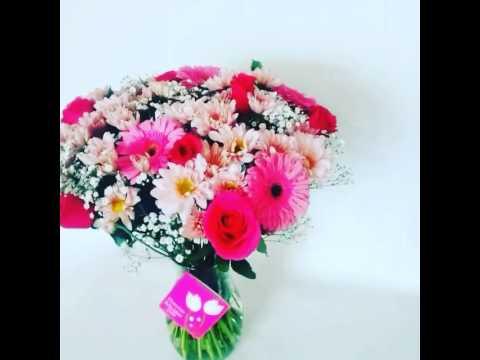 Ramos de flores sencillos arreglos florales 2017 youtube for Arreglos de rosas sencillos