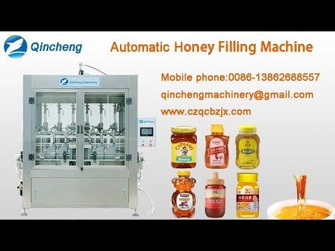 Honey Filling machine-piston cylinder high  viscosity honey filling machine