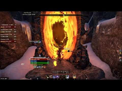 Dragon Star Arena with 2H Stamina Sorcerer - Dragon Bones DLC