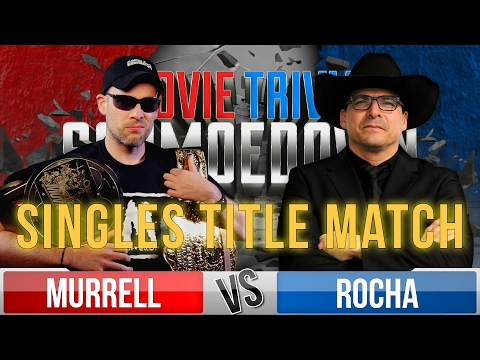 Movie Trivia Schmoedown Championship Match - Dan Murrell Vs John Rocha/ McWeeny vs Kalinowski