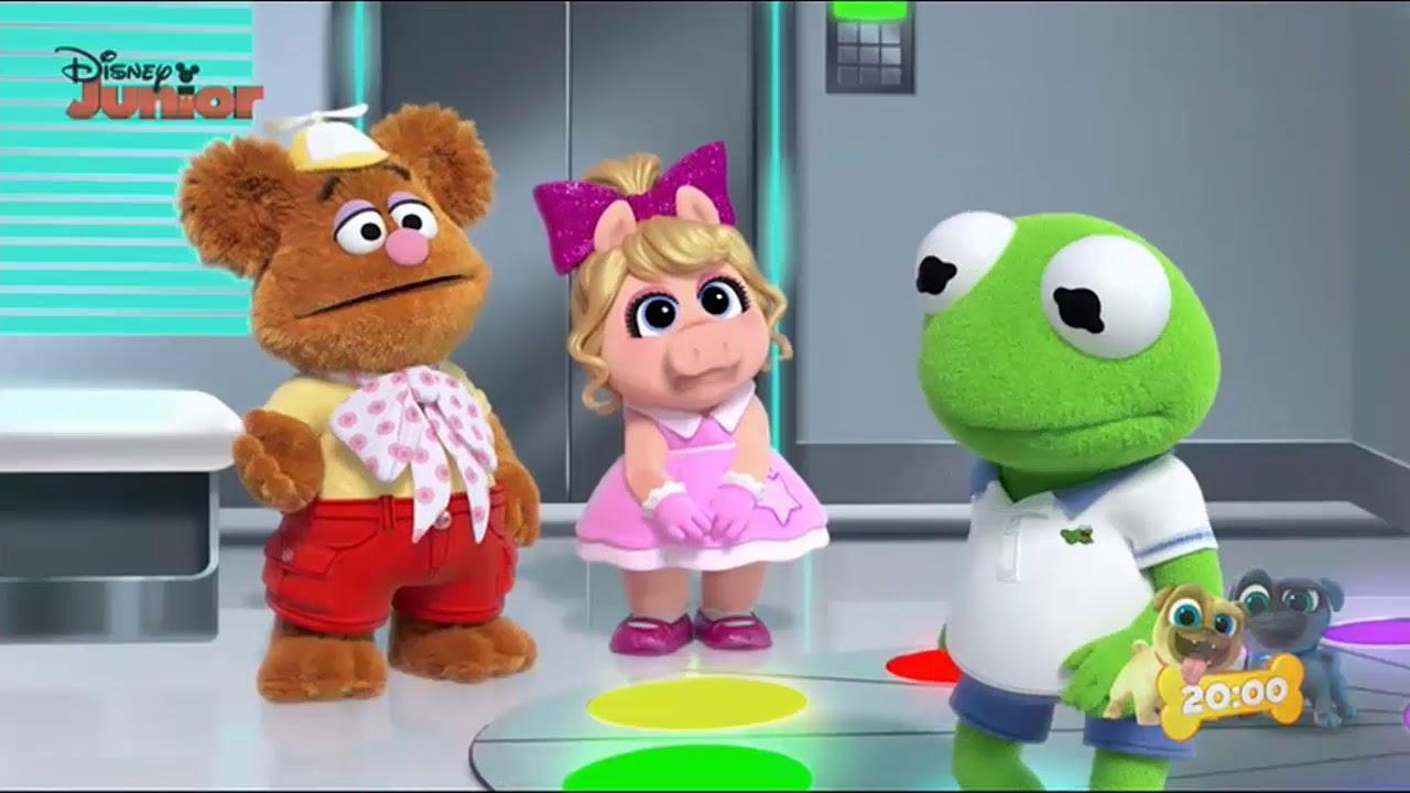Muppet Babies La Maquina Del Tiempo De Peggy 2 Disney Junior Muppet Baby En Español Capitulos