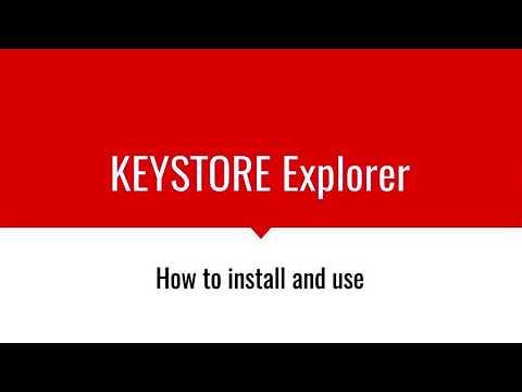 keystore-explorer-quick-overview