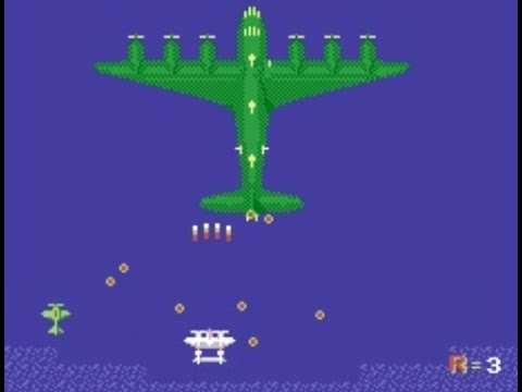 1942 (NES) Playthrough - Ninte...