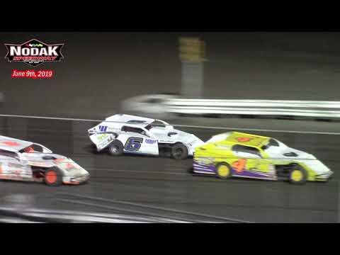 Nodak Speedway IMCA Modified A-Main (6/9/19)