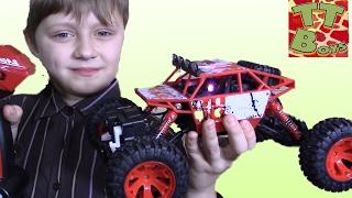 Машинки - Монстр Трак Распаковка Новой Игрушки На Радио Управлении. Видео Для Детей