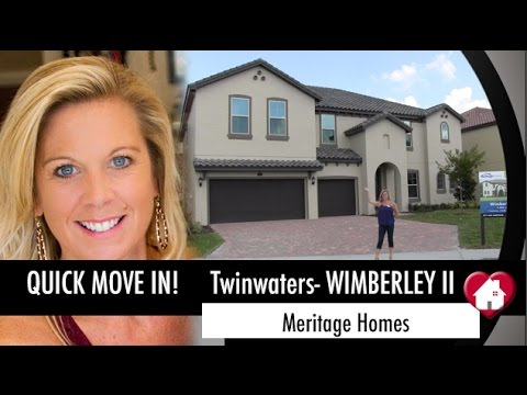 New Homes Winter Garden Orlando Wimberley Floor Plan At