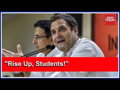 """""""Rise Up, Students!"""": Rahul Gandhi Cries Foul After Centre Mulls Civil Services Overhaul"""