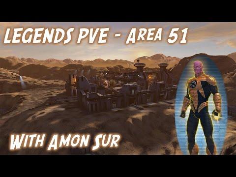 DCUO Legends PVE - Area 51 as Amon Sur