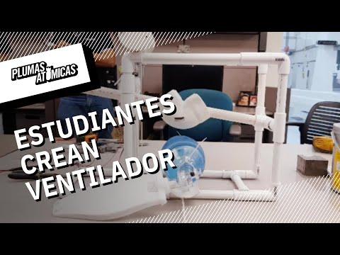 Estudiantes crean ventilador para pacientes con Coronavirus