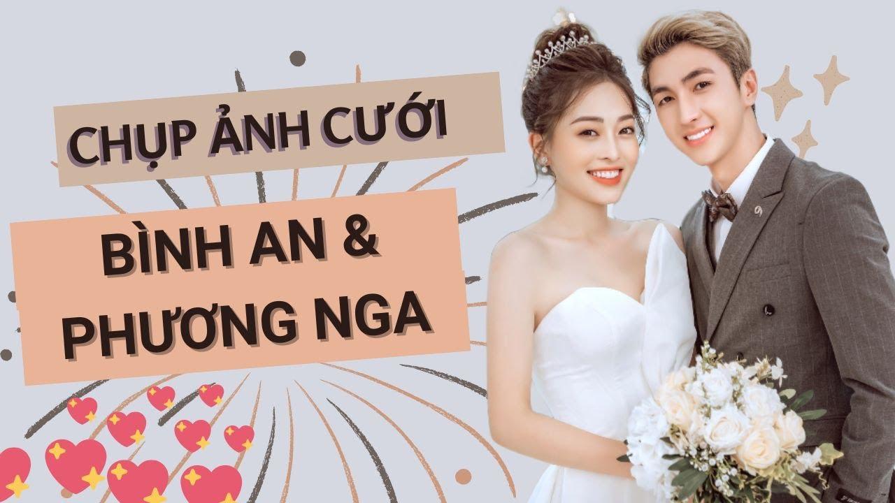 Trình Làng bộ ảnh cưới đẹp như mơ của Á hậu Phương Nga  – Bình An: Cặp đôi vàng trong làng Happy