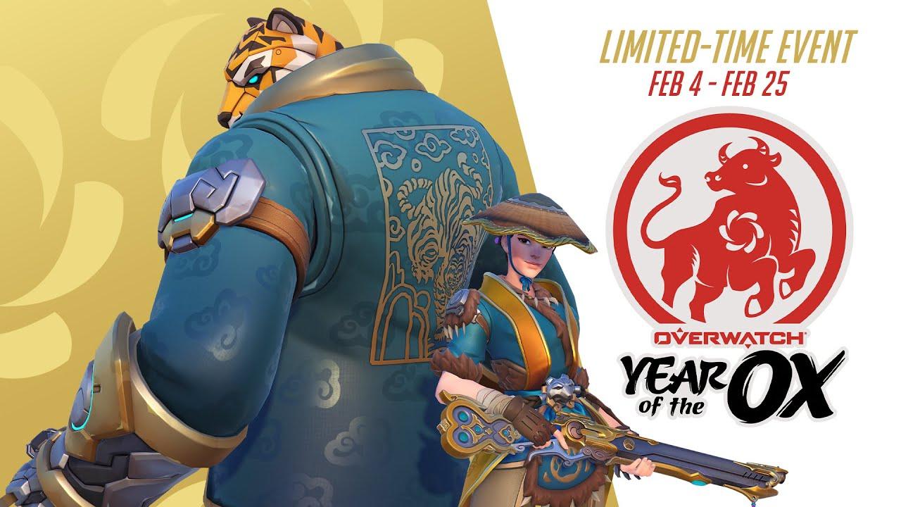 Overwatch чества китайската Нова година