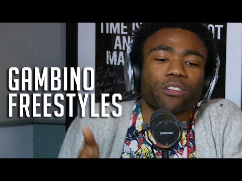 Childish Gambino's Epic Freestyle on HOT97...