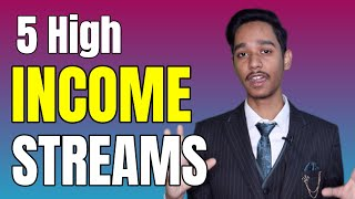 5 High Income Streams in 2020 | High INCOME Skills | Make Money Online