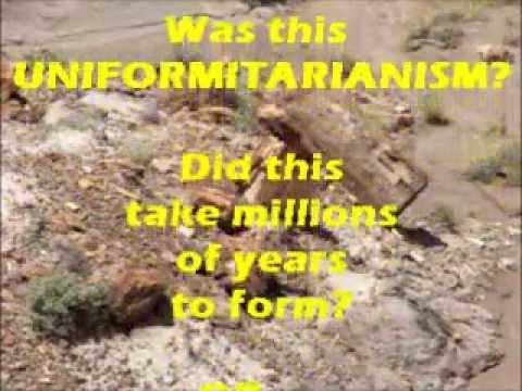 Catastrophism OR Uniformitarianism