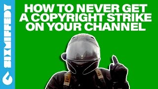 How To NEVER Get A Copyright Strike On Your Channel