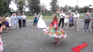 Цыганочка на свадьбе младщей сестры город курск 2013 год хб