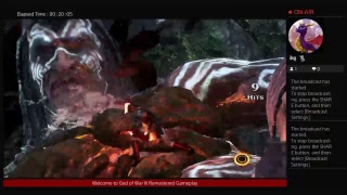 God of War III Remastered Gameplay-New costume.