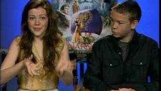 """Georgie Henley and Will Poulter Talk About """"Chronicles of Narnia: Voyage of the Dawn Treader"""""""