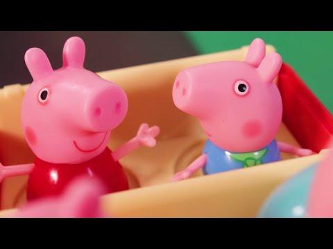 peppa-pig-en-español-juguetes-💛-aventura-al-aire-libre- -pepa-la-cerdita