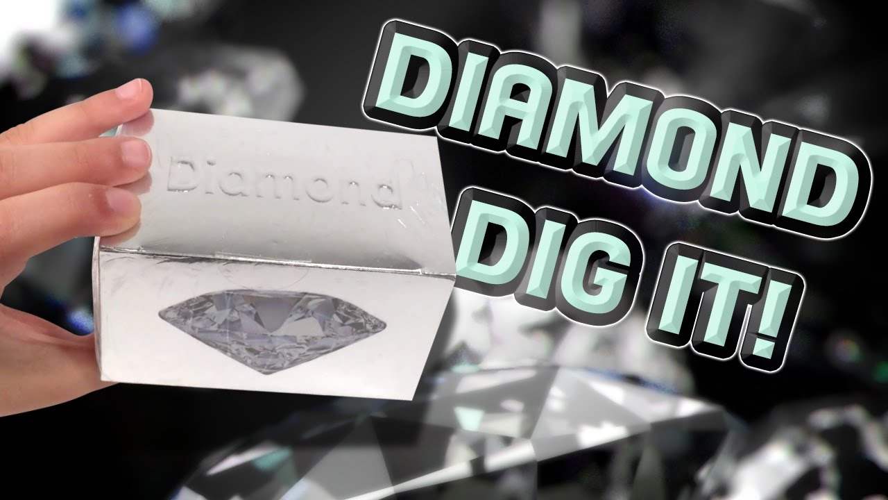 DIAMOND DIG IT Unboxing - Geology Mining Kit for Kids