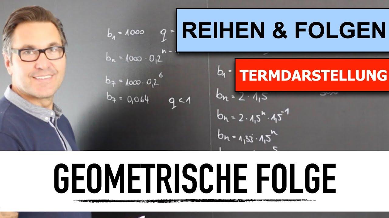 Download Was ist eine Geometrische Folge? | geometrische und arithmetische Folgen berechnen | Folgeglieder