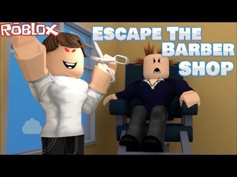 Roblox ESCAPE THE BARBER SHOP OBBY / FIND THE SECRET ESCAPE ROUTE !! Roblox